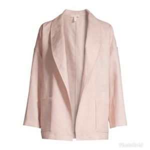 Eileen Fisher Shawl Collar Jacket Powder Color